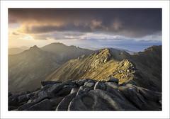 THE POOL (SwaloPhoto) Tags: islands coast scotland rocks shadows silhouettes coastal peaks isleofarran ridges goatfell estuaries scottishhighlands bythesea firthofclyde corbetts summits glenrosa cirmhor caistealabhail northgoatfell leefilters fujixe2 deargcoirein fujinonxf14mmr