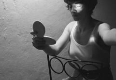 autoritratto1996 (Danieli19) Tags: autoritratto pellicola analogico medioformato