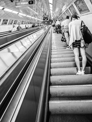 Budapest Metro (nielsgaastra) Tags: street travel budapest olympuspen
