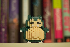 5/365 Snorlax (katet_j) Tags: snorlax pokemon nanoblock 365day