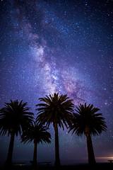 Milky Way over Refugio State Beach (BrendanBannister) Tags: milky way stars santa barbara refugio el capitan state beach seaside night photography long exposure