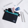 Flat Pouch Aqua 08 (Imagery Bags) Tags: zipper ykk waterresistant flatpouch drypouch