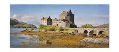 Eilean Donan Castle.. (Harleynik Rides Again.) Tags: castle scotland highlands edit lochalsh dornie lochduich eileandonancastle harleynikridesagain