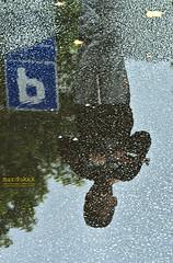 Reflection / Odraz (mardukkk) Tags: reflection water children kid gun child weapon voda dete odraz decak