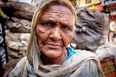 _DSF1578fw (travelstreetmodel) Tags: varanasi india indian elderly woman wrinkles travelphotography naturallight portrait fujixt1 fuji18mm