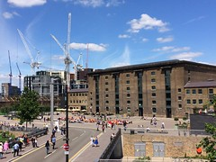 Granary Place (My photos live here) Tags: road england london mill station town phone place cross camden north cranes kings pancras granary somers 5s i