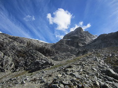 Joffre Lakes Provincial Park (dapham) Tags: mountains lake nature hiking vancouver bc british columbia canada ridge mountainridge