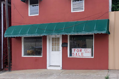 34 (jwcjr) Tags: forsale murphync murphynorthcarolina windows awning storefront building architecture pentax reflection
