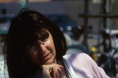 A la terrasse d'un caf (maxguitare1) Tags: femme mujer frau donna woman corse ilerousse portrait ritratto retrato face