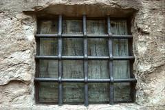 when our windows of perception go blind and locked (lunaryuna) Tags: building window matrix architecture historic grill condensation lunaryuna barred windowswednesday windowofperception