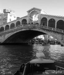 Rialto Bridge (iJoydeep) Tags: rialto bridge iphone5 italy venice