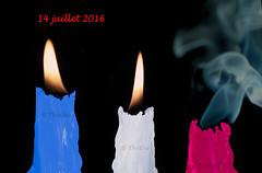 France 14 juillet 2016 bougies  Thethi (thethi: pls read the 1st comment) Tags: conceptuel pays france libert galit fraternit terrorisme massacre horreur nice photoshopped ftenationale 14juillet hommage faves50 setvosfavorites ruby3