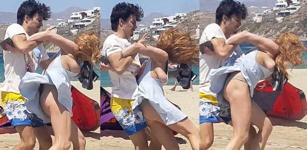 """""""Nenhuma mulher merece isso"""", diz Lindsay Lohan após agressão do noivo"""