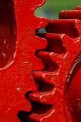 20160625-02_Interlocking Teeth_Crane _Cogs_Braunston Marina (gary.hadden) Tags: red crane teeth cogs gears redpaint braunstonmarina