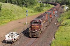 DMIR 403, Biwabik, MN (capwell) Tags: biwabikmn dmir missable biwabik tunnelmotor mn