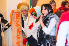La Befana at Montalto delle Marche - January 2016 (MikePScott) Tags: ascolipiceno befana buildings builtenvironment camera clothing events featureslandmarks festival fiesta hat italia italy labefana lemarche lens montaltodellemarche nikon105mmf28vrmicro nikond800 people performingarts scarf strega theatre witch marche