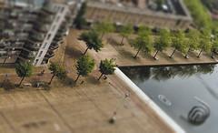 Hoek (sylvia@flikkert) Tags: hoek corner zoetermeer nederland thenetherlands markt grotedobbe marseillepad miniatuur tiltshift