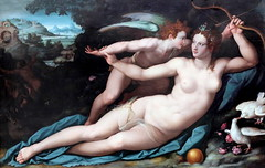 IMG_2966 Alessandro Allori. 1535-1607.  Florence. Vnus et l'Amour. Venus and Cupid. vers 1570. Montpellier Muse Fabre. (jean louis mazieres) Tags: france museum painting montpellier muse museo peintures peintres musefabre alessandroallori