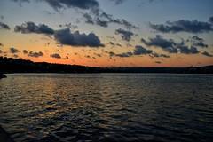 Sunset in Golden Horn-Hali/stanbul (mervezeyynep) Tags: sunset gnbatm landscape outdoor shores travel istanbul sea hali