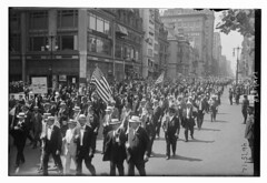 July 4th (LOC) (The Library of Congress) Tags: libraryofcongress dc:identifier=httphdllocgovlocpnpggbain27391 xmlns:dc=httppurlorgdcelements11 july41918 loyaltyparade 1918 newyork 5thavenue 58thstreet