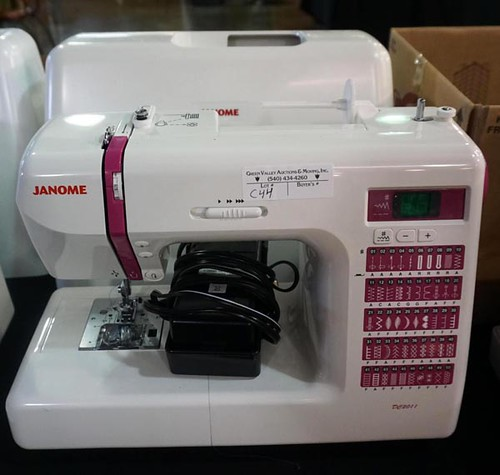 Janome Embroidery & Sewing Machines ($644.00, $420.00, $201.60)
