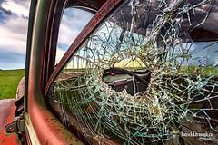 Mercury (Pat Kavanagh) Tags: nik efex mercury alberta taber canada abandoned bullethole rusting rusted pickup ford prairies prairie