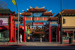 """""""Lil China"""" (So Fluid) Tags: downtown losangeles dtla chinatown china landscape landscapephotography entrance red color photography sofluid canon canonrebel sigma sigmalens southerncalifornia california asia culture structure 30mm plaza ngc"""