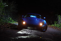 IMG_5051 (Yorkshire Pics) Tags: 0410 04102016 october tvr sagaris blue tvrsagaris bluetvr bluetvrsagaris bluecar night nightphotography nighttime nightscene supercars leeds swillington carsatnight transport supercarsatnight tvratnight