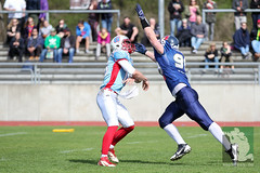 "RFL15 Assindia Cardinals vs. Bonn GameCocks 12.04.2015 035.jpg • <a style=""font-size:0.8em;"" href=""http://www.flickr.com/photos/64442770@N03/16503320604/"" target=""_blank"">View on Flickr</a>"