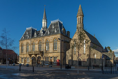 Bishop Auckland Town Hall (Phil Horan) Tags: townhall marketplace bishopauckland