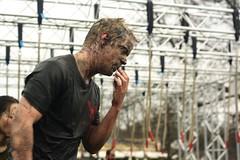 The taste of mud (blondinrikard) Tags: race göteborg sweden gothenburg competition april obstaclecourse tävling 2015 slottsskogen lopp löpartävling hinderbana toughviking toughvikingrace