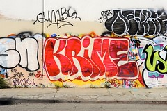 KRIME (STILSAYN) Tags: california graffiti oakland bay east area 2015 krime