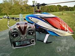 Fast 4 PS - Nearly 4 bhp (avronaut) Tags: electric radio t 3d control helicopter mikado rex rc trex controlled vbar aerobatic hubschrauber 550 align ferngesteuert dominator telemetrie modellflug 550l vstabi