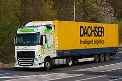 "Volvo FH IV Globetrotter "" FINGER "" (CZ) (magicv8m) Tags: transport trans lkw tir"