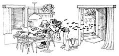 LA MAGIA DE QUINO (Pablo Veloso) Tags: de humor fotos reflexion frases espada risa politica quino damocles pabloveloso hamsakali