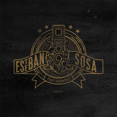 Logo para el estudio del profe Sosa. (Abel Snchez.) Tags: logo typography photography design graphicdesign letters icon type lettering brand branding logotype