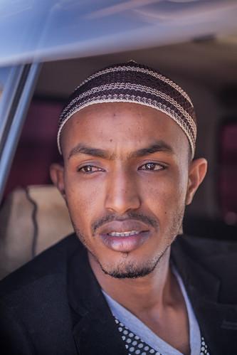 Portrait of local cameraman, Somaliland