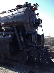 ATSF Santa Fe #3751 (hupspring) Tags: santafe engine loco steam locomotive southerncalifornia orangecounty fullerton traintrack steamengine steamlocomotive fullertonstation atsf railroaddays atchisontopekasantafe fullertonrailroaddays santafe3751 baldwinlocomotiveworks
