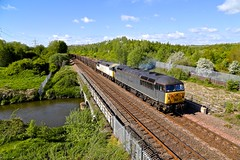 56312 / 103 Beighton River Rother 20 May 15 (doughnut14) Tags: grid other diesel sheffield cardiff rail loco scrap stockton freight oldroad southyorkshire beighton dcr class56 56103 56312 northmidland jeremiahdixon