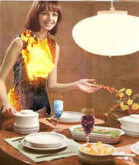 """""""untitled"""" (olivercollage) Tags: life light food flower art glass lamp girl yellow collage fire lava artist wine collages quite universe serving untitled olivercollages oliverstaginnus"""