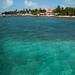 A pequena ilha de Caye Caulker