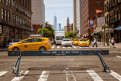 NYC Traffic on 6th Avenue - The Avenue of The Americas