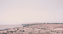 Dream (`TOMS`) Tags: sea white water nikon rocks outdoor north dream cyprus lonely 1855 dust nikkor gravel d3200 vrii