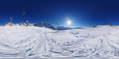 La Chaux Express (gadl) Tags: panorama 360 switzerland suisse snow neige verbier 21 equirectangular