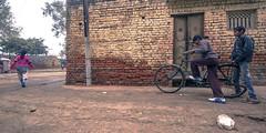 (Kals Pics) Tags: agra uttarpradesh india life people street travel boys kids girl pov perspective home house cwc chennaiweelendclickers roi rootsofindia bicycle bricks door window romeo friends love children childhood story incredibleindia kalspics