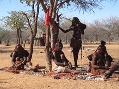 Village market (s_andreja) Tags: africa namibia kamanjab himba village