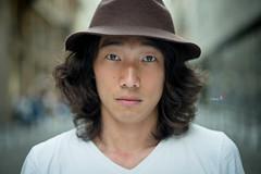 Stranger #104: Joonseong (w@@t) Tags: portrait 100strangers people milan 50mm f14
