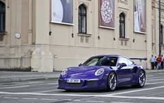 Purple (WuschelPuschel458) Tags: porsche 911 991 gt3 rs 40 supercars sportscars automotive photography awesome purple ultra violet carspotting cars car canon carphotopraphy cool carporn camera carbon classic coupe