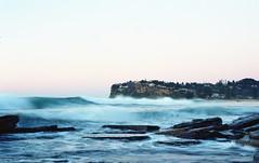 Newport Dawn [Nikon F5 Film] (Aviator195) Tags: newportbeach newport beach northernbeaches sydney australia sand water longexposure surf surfing ocean nikon nikonf5 f5 film filmphotography 35mm 35mmfilm epson epsonperfection epsonv550 landscape seascape morning sunrise dawn