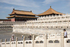 Palace Museum (Tony Shi, Life) Tags: bejing china tiananmen tiananmensquare forbiddencity palacemuseum famousplace travel traveldestinations touristattraction architecture buildings